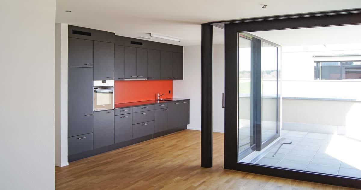 Bild Malerarbeiten innen – Küche