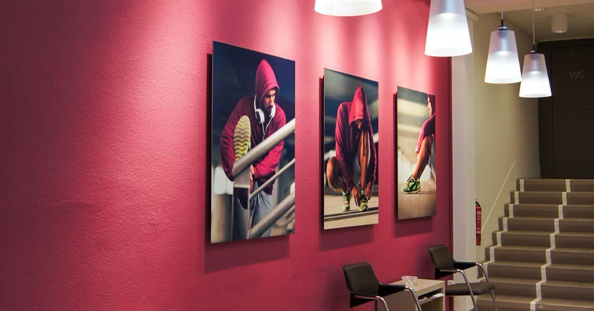 Bild Malerarbeiten innen – Referenz Ortho Team Bern – Garbani AG