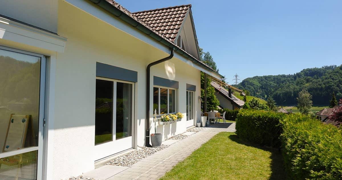 Bild Malerei aussen Einfamilienhaus - Garbani AG Bern