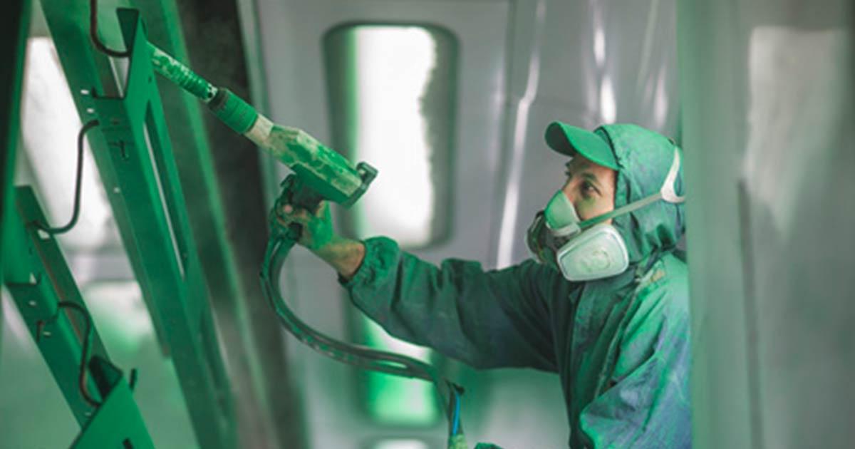 Bild Industrielackieren – Garbani AG Bern