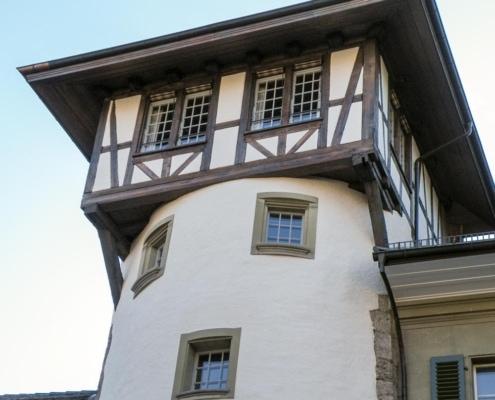 Bild Holländerturm Bern Fachwerk-Restauration – Garbani AG Bern