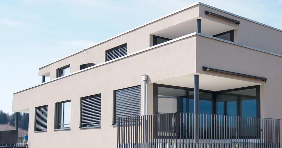 Bild Aussenmalerei Fassadenisolation Wärmedämmung – Garbani AG Bern