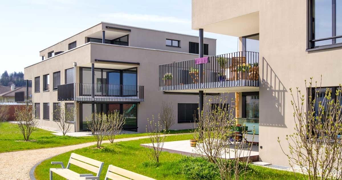 Aussenmalerei Fassadenisolation Beschichtung_Malerei-Gipserei Garbani AG Bern