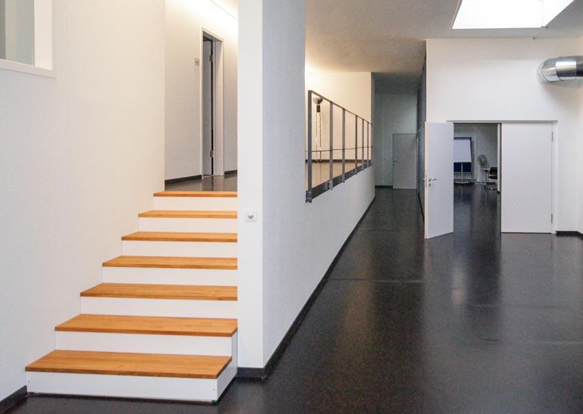 Garbani Malerei innen-Schulräume Effingerstrasse Bern